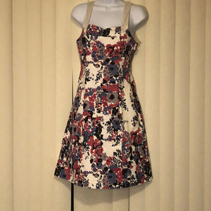 Lined Floral Sundress Size 4