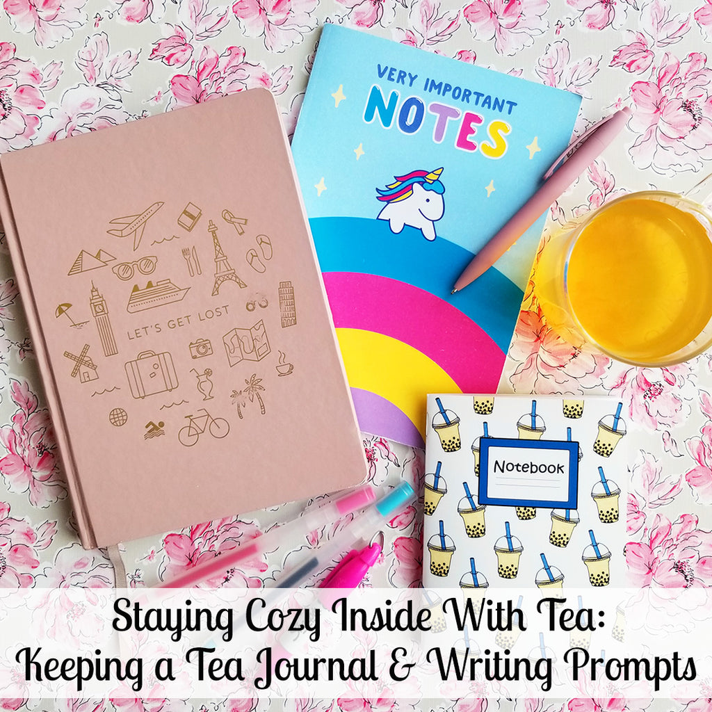 Keeping a Tea Journal: 5 Great Journaling Prompts & Ideas!