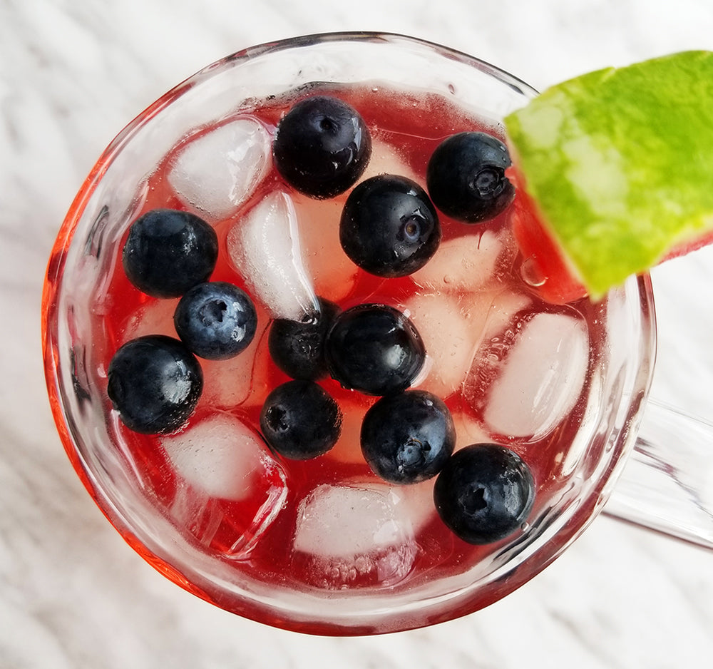 How To Make Berry Bouquet Fizzy Iced Tea!