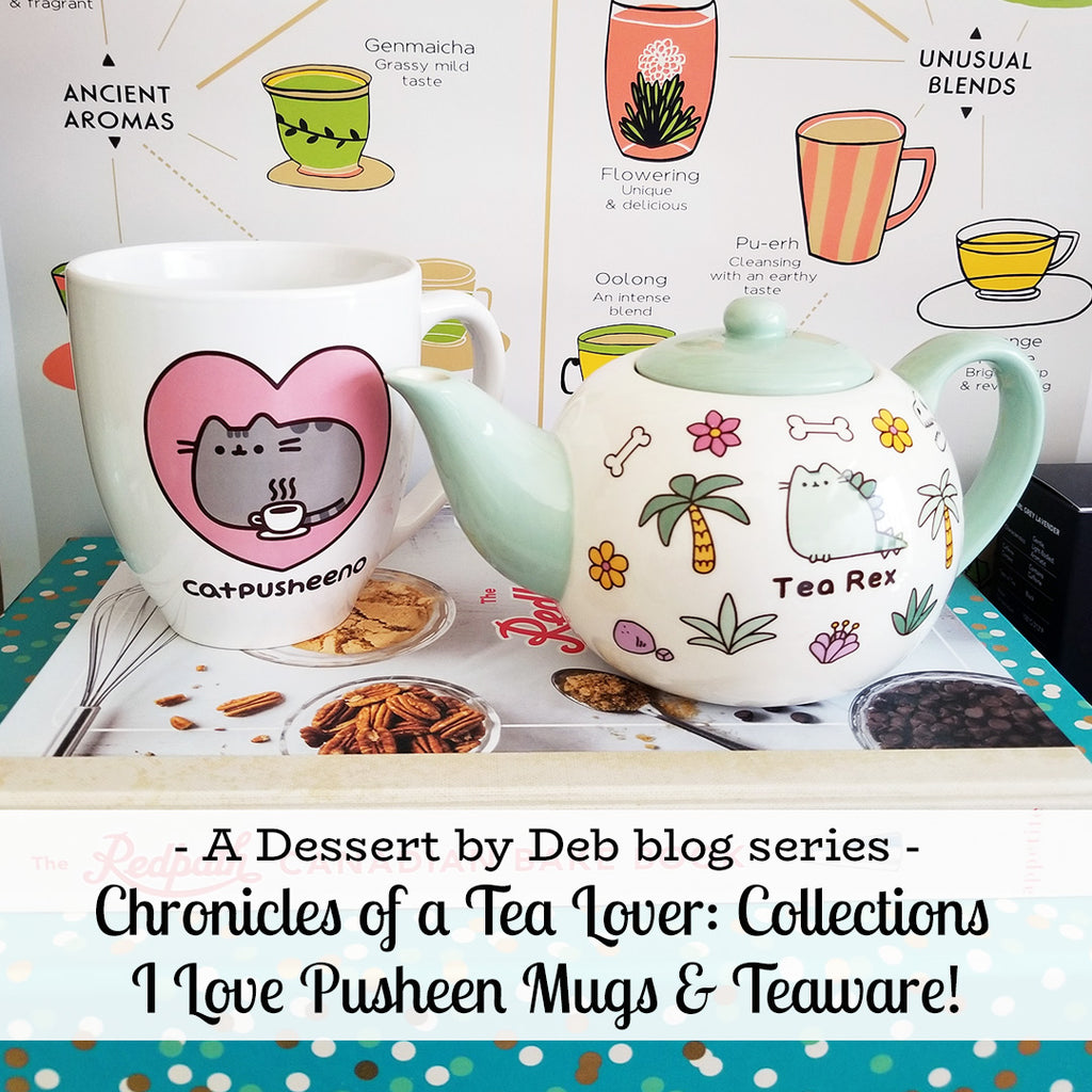 Chronicles of a Tea Lover - Collections: I Love Pusheen Mug & Teaware
