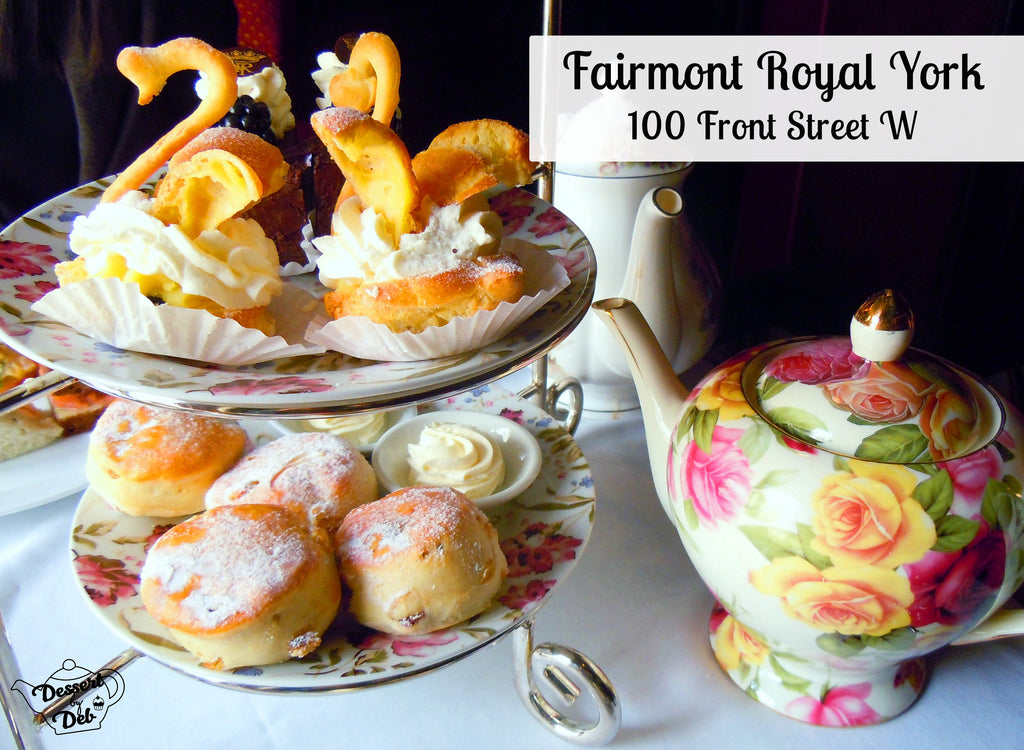 Fairmont Royal York afternoon tea Toronto