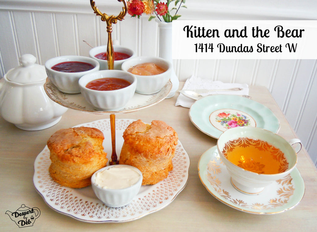 Kitten and the Bear afternoon tea Toronto