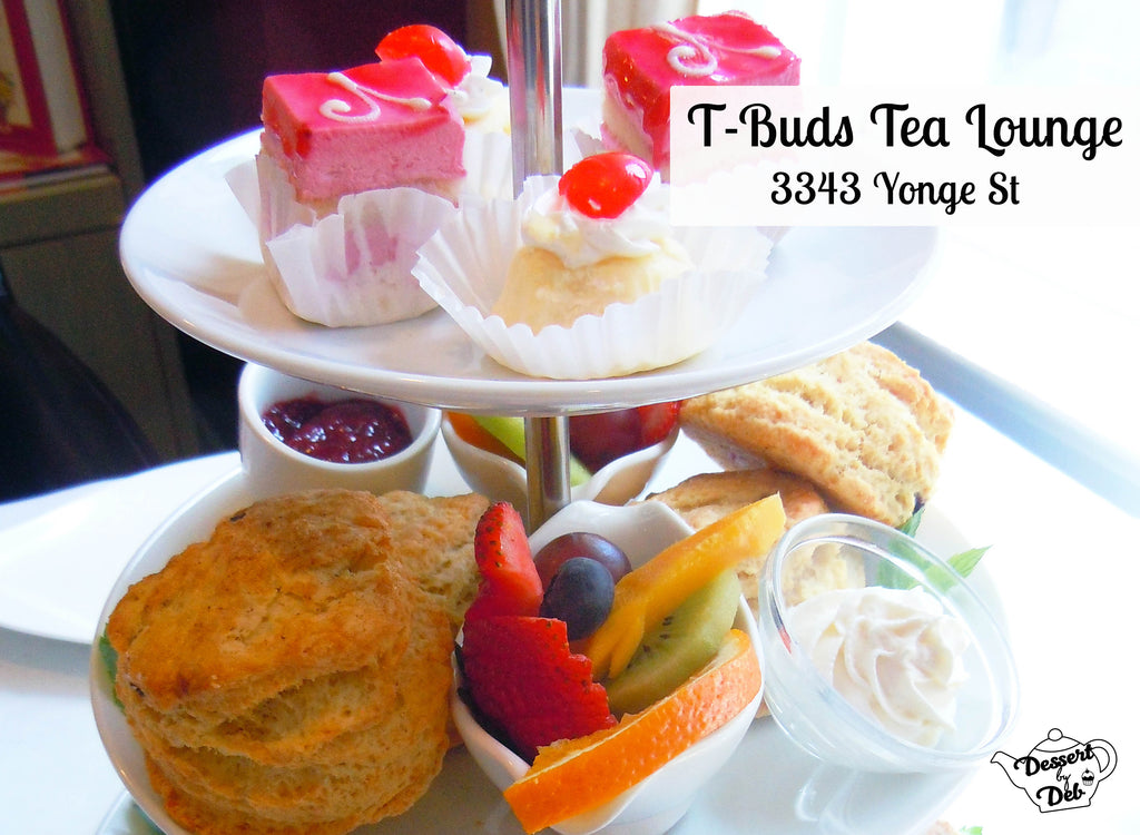 T-Buds afternoon tea Toronto