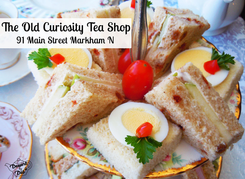 The Old Curiosity Tea Shop afternoon tea Markham Toronto