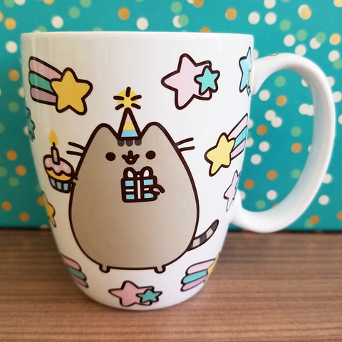 Pusheen mug, birthday