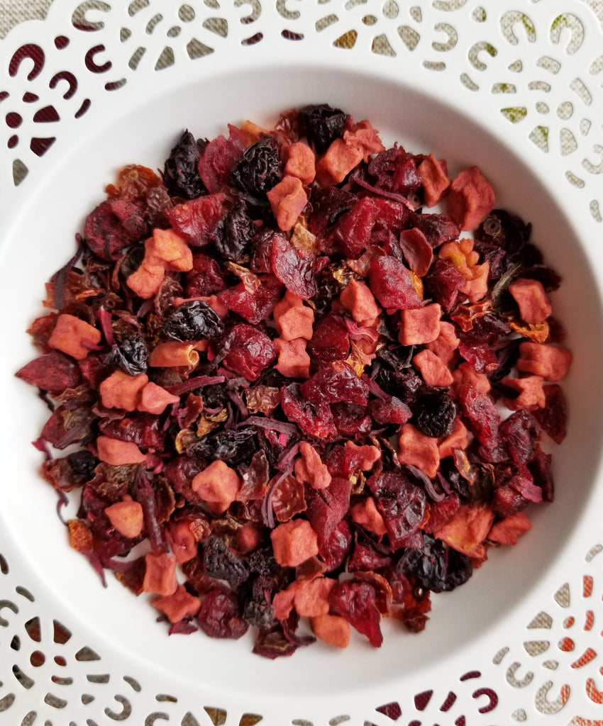 Cranberry Crabapple Jam (Herbal Tea)