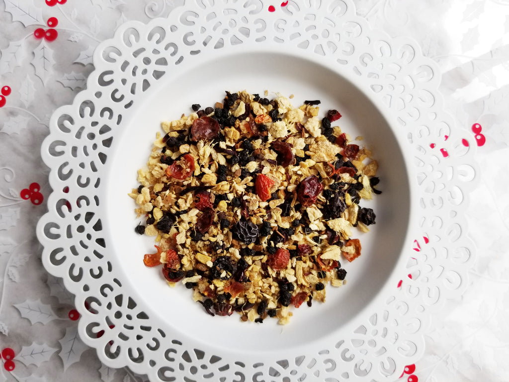 Ginger Berry Crisp (Herbal Tea)