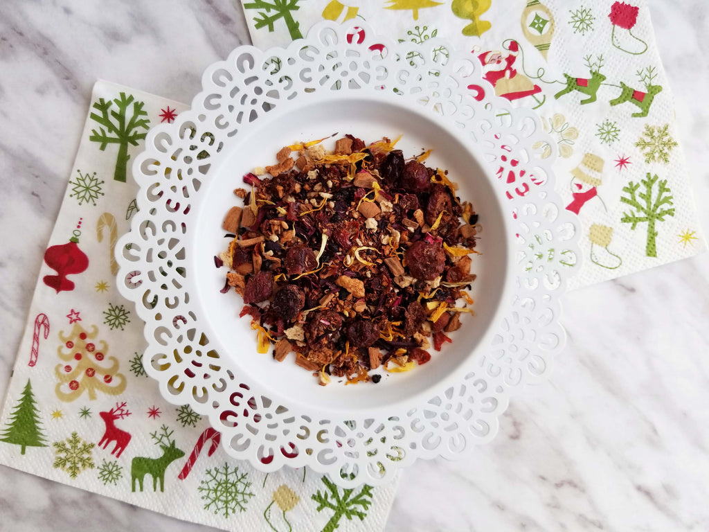 Holiday Cranberry Crumble (Rooibos Tea)