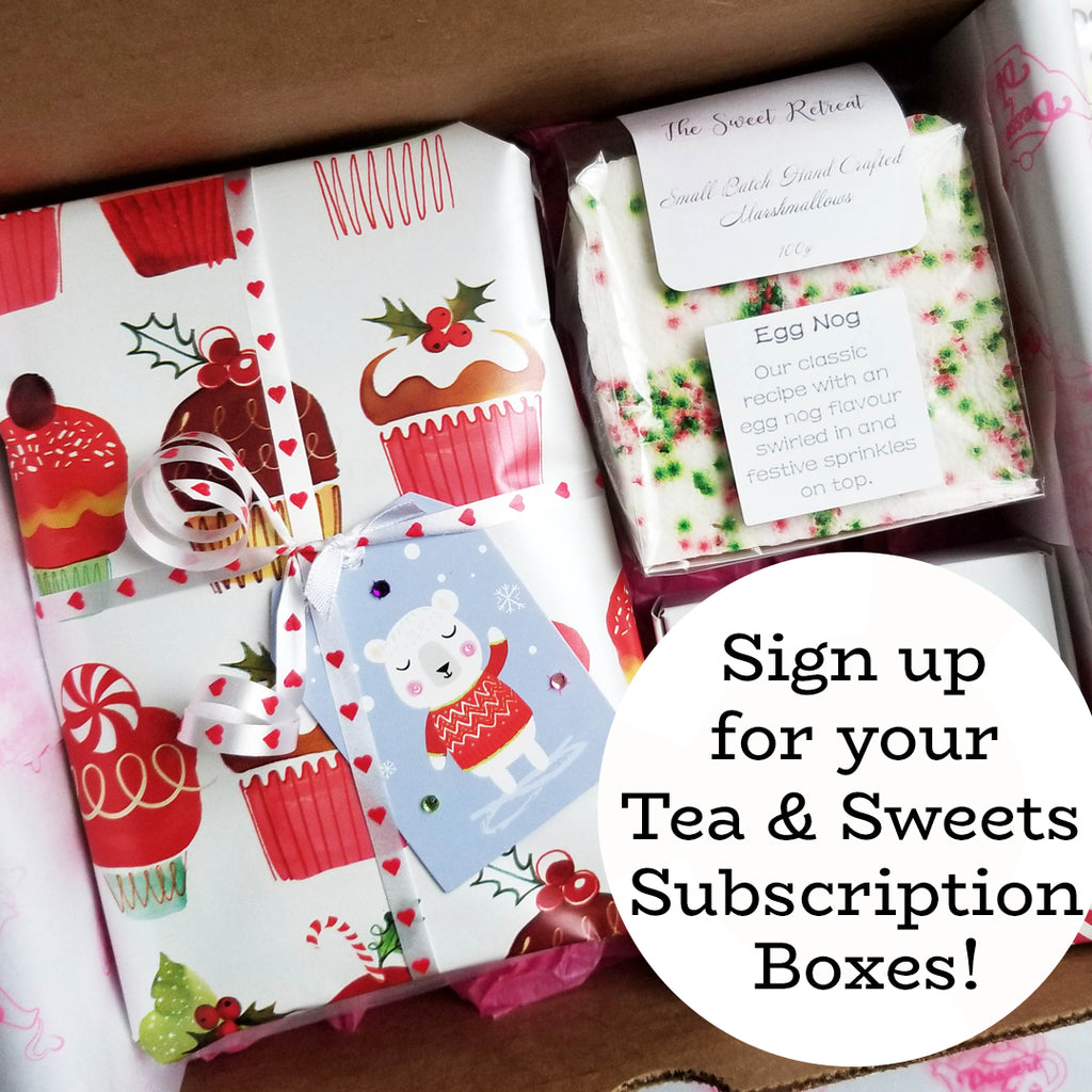 Dessert by Deb Tea & Sweets Subscription Box!  1-Year (6 Boxes) - FREE SHIPPING!