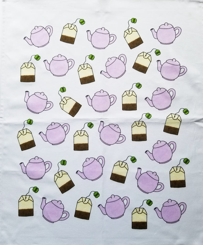 """Time for Tea"" tea towel - Dessert by Deb"