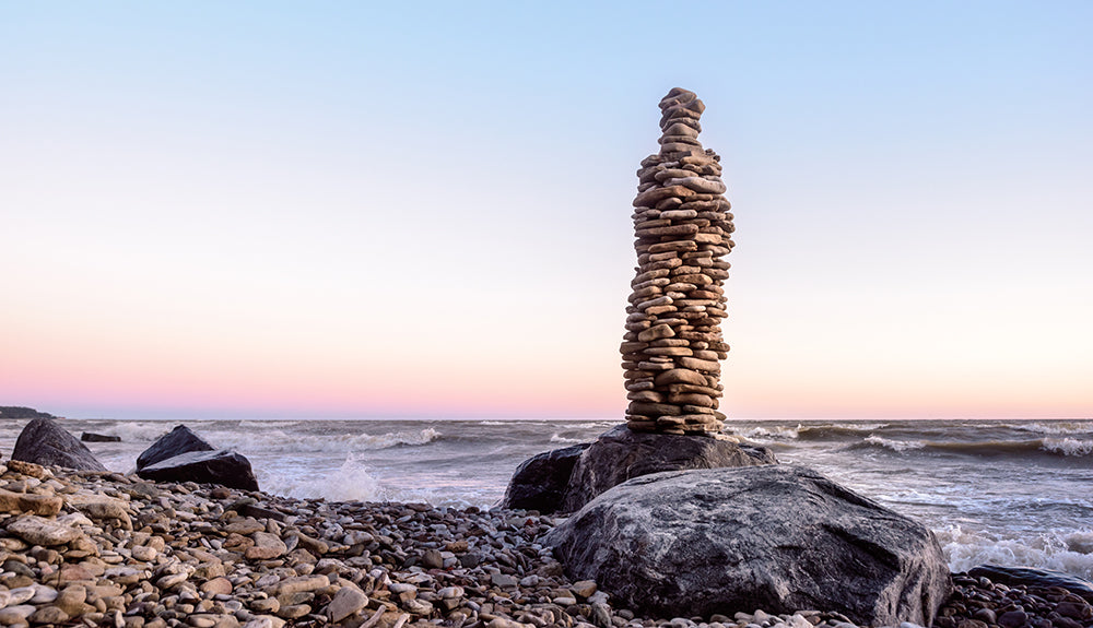 Balancing Rocks Depicting Genomic Instability
