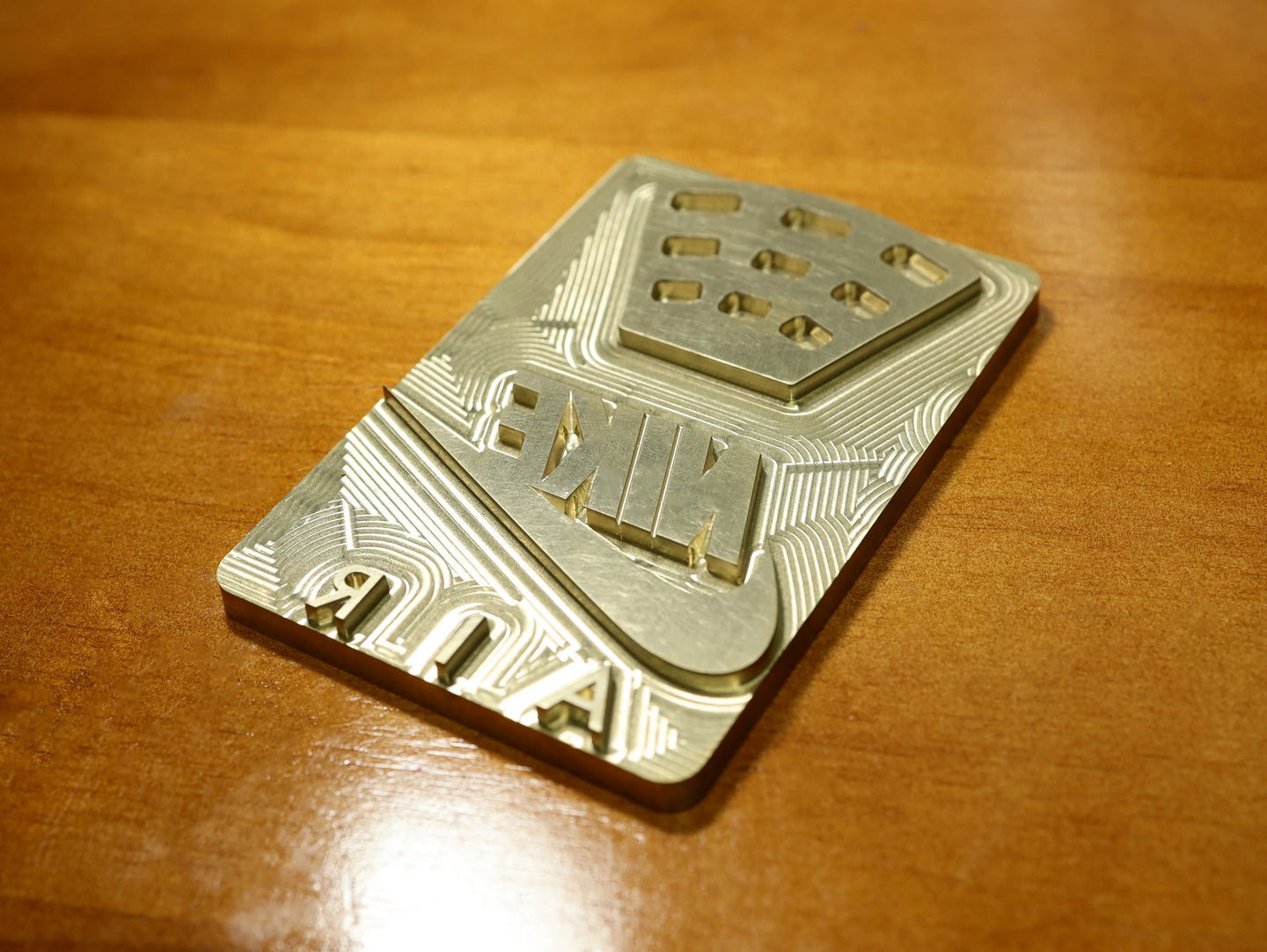 Brass Stamp - Air Jordan 4 Back tab