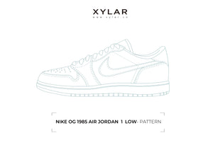 Nike OG 1985 Air Jordan 1 Low Pattern - Acrylic