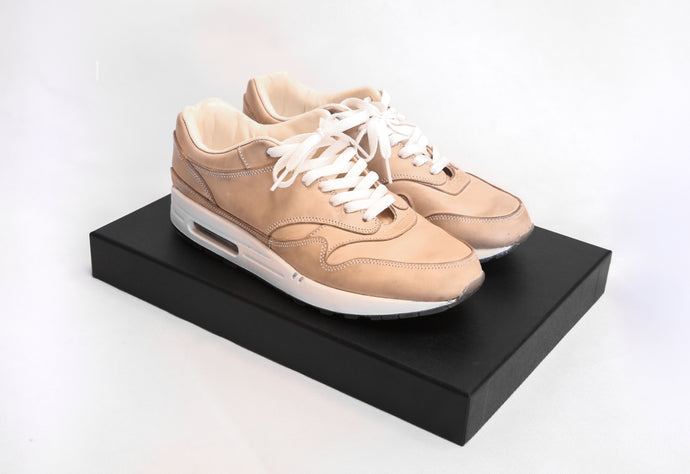 Nike Air Max 1 - Undyed Vegetable-tanned Leather