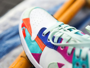 NIKE SB DUNK LOW - Atmos Patchwork