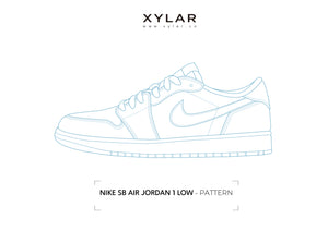 Nike SB Air Jordan 1 Low Pattern - Acrylic