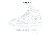 Load image into Gallery viewer, Off-White x Nike Air Jordan 1 Pattern - Acrylic