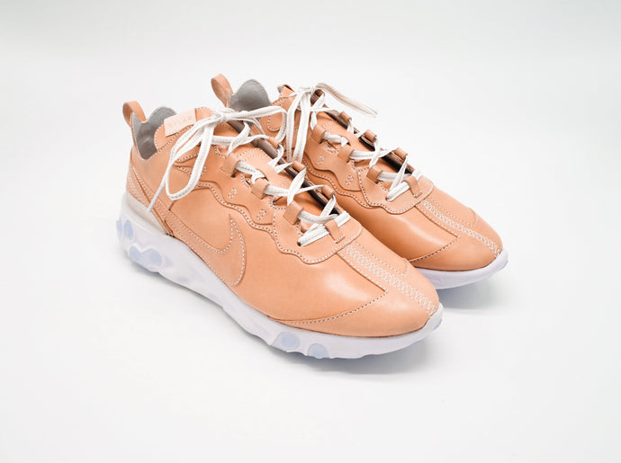 NIKE React Element 87 - Japanese Tochigi Saddle Veg-tanned Leather