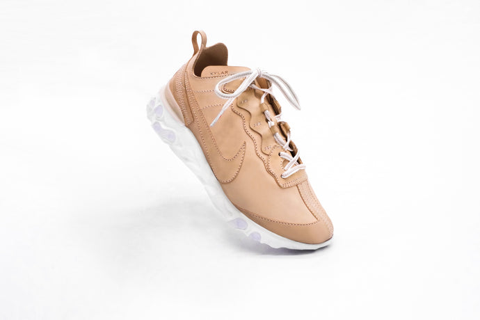 NIKE React Element 87 - Undyed Italian Buttero Veg-tanned Leather