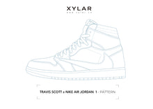 Load image into Gallery viewer, Travis Scott x Nike Air Jordan 1 Pattern - Acrylic