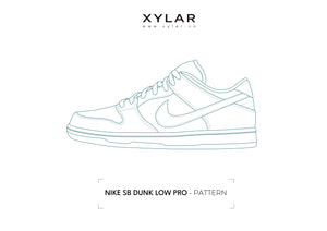 Nike SB Dunk Low Pattern - Acrylic