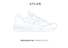 Load image into Gallery viewer, New Balance 991 Pattern - Acrylic