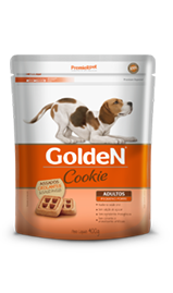 Biscoito Premier Pet Golden Cookie para Cães Adultos Mini Bits - 400gr