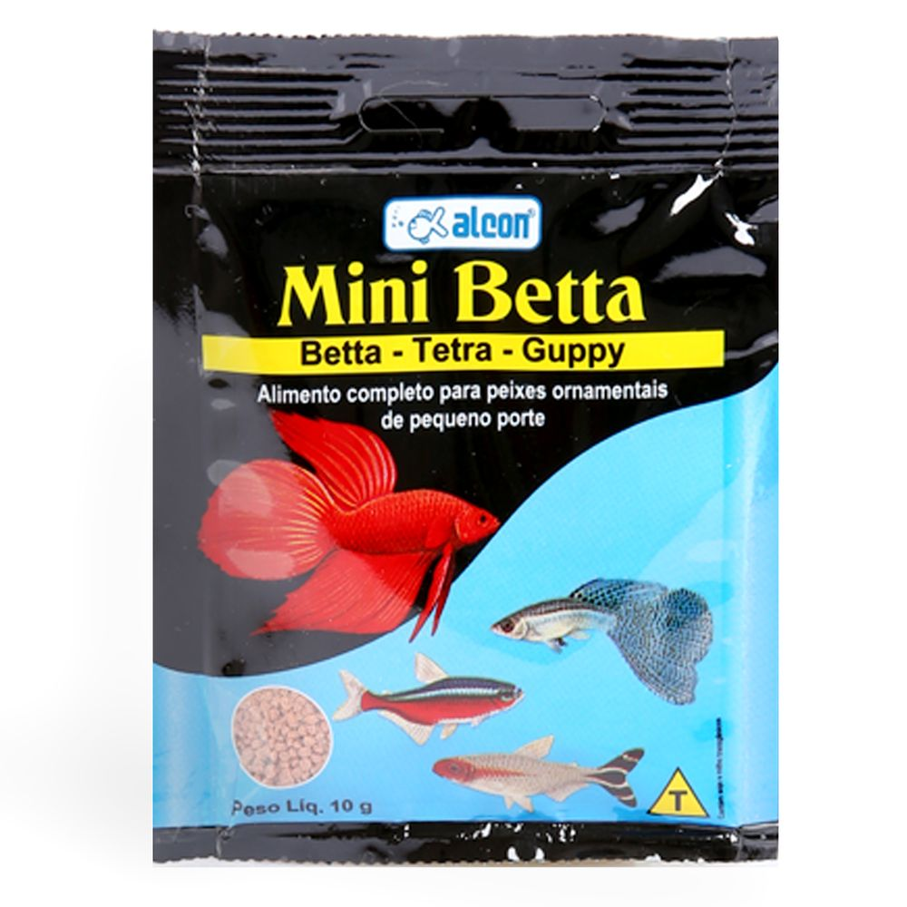Ração Alcon Mini Betta - 4g