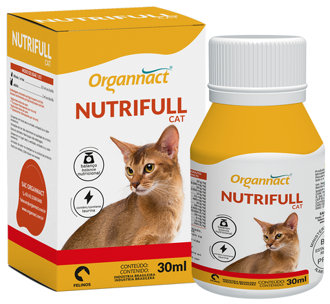 Suplemento Organnact Nutrifull Cat - 30ml