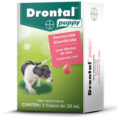 Vermífugo Drontal Puppy - 20ml