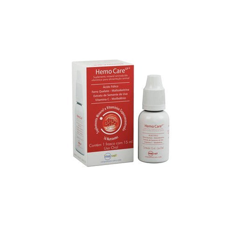 Suplemento Inovet Hemo Care - 15ml
