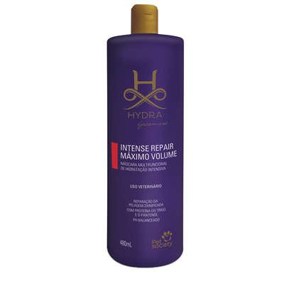 Máscara Multifuncional Pet Society Hydra Groomers Intense Repair Máximo Volume - 480ml