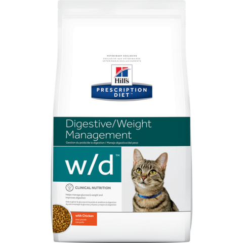 Ração Hills Feline Prescription Diet W/D - 1,8 Kg