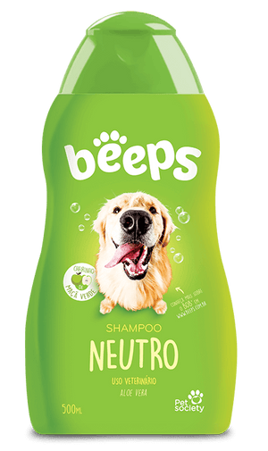 Shampoo Pet Society Beeps Neutro - 500ml