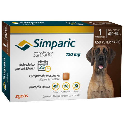 SIMPARIC 120MG C/ 1 COMP