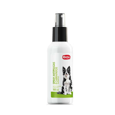 Spray Antipulgas Ibasa para Cães - 100ML