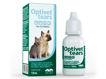Colírio Optivet Tears Substituto das Lágrimas - 10 mL