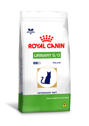 Ração Royal Canin Feline Veterinary Diet Urinary S/O - 1,5 kg