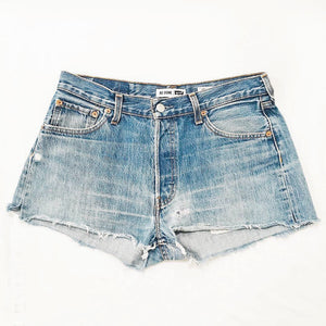 Levi's high waist cuttoffs