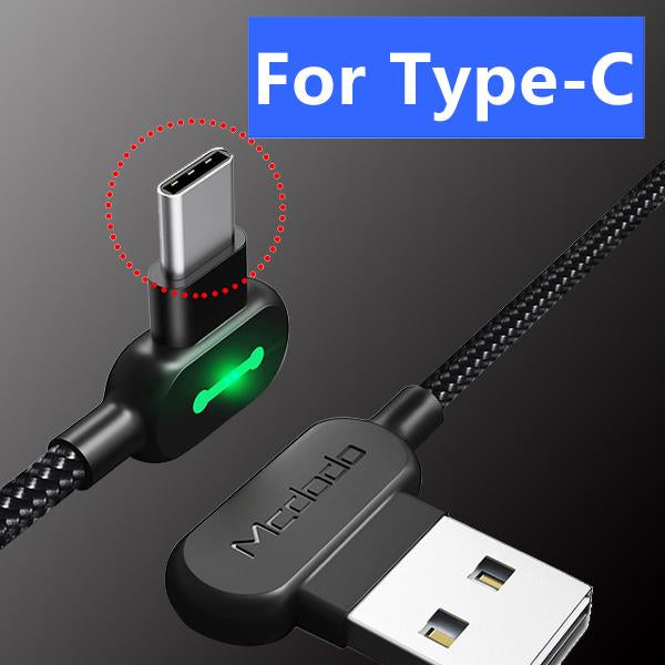 Lightning bolt™ braided charging cable(Buy One Get One Free)