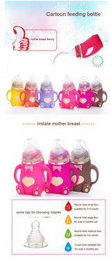Baby Feeding Bottle (Wide Neck & Shatterproof)