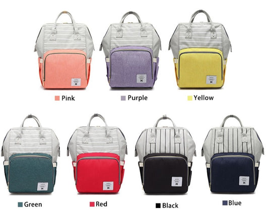 The Best Baby Diaper Bag Ever- Two Toned Colors (NEW ITEM)