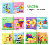 Soft Cloth Storybooks for Babies (4books)