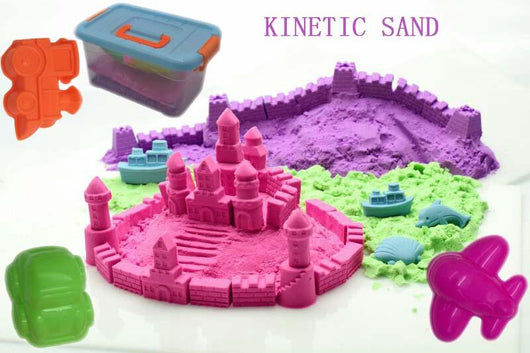Ultimate Kinetic Squeezable Sand Set