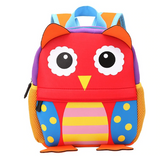Zoo Series Kids Plush 3D Backpack