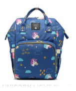 The Best Baby Diaper Bag Ever (Waterproof) - Unicorn Prints