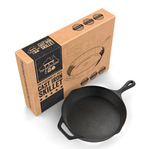 Fresh Australian Kitchen 30cm Cast Iron Skillet