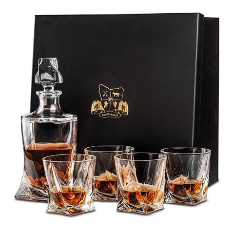 Tasman Twist Decanter Set