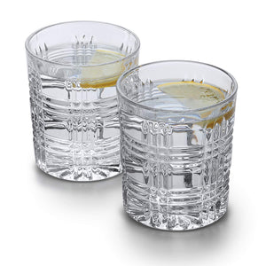 Whisky Decanter (750ml) and Set of 4 Glasses (300ml). 'Arthur' Lead Free Crystal by Van Daemon for Spirits.