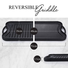 Load image into Gallery viewer, Reversible griddle
